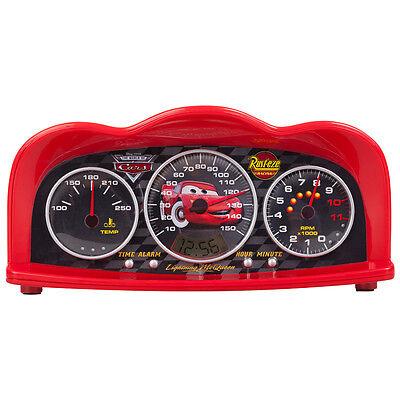Disney 250161 Cars Radiowecker Alarm Clock mit Zeitanzeiger Kinderwecker