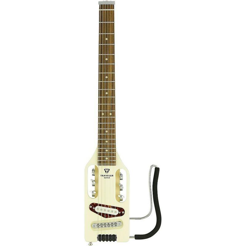 Traveler Guitar Ultra-Light Electric Travel Guitar Vintage White