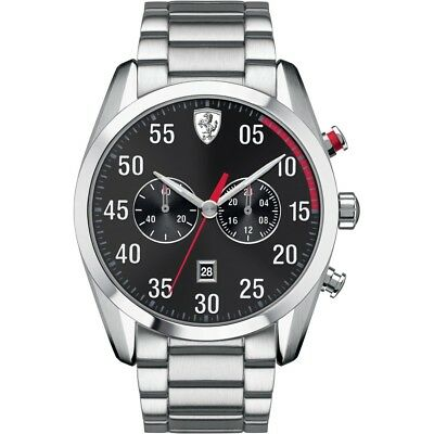 Ferrari Men's D50 0830176 Stainless Steel Watch - New Boxed Tags