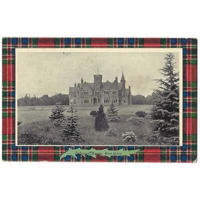 DALMORE HOUSE Alness, Ross-shire Postcard by Davidson Unused