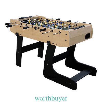4ft Football Table Folding Games Table Sports Foosball Indoor Soccer Table Games