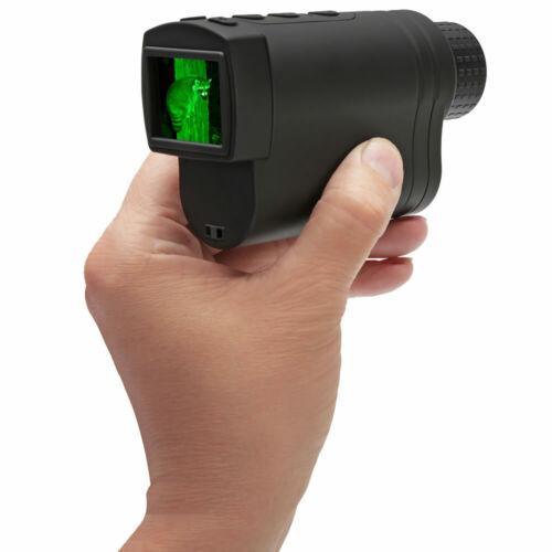 Hammacher Schlemmer Infrared Night Vision Pocket Monocular