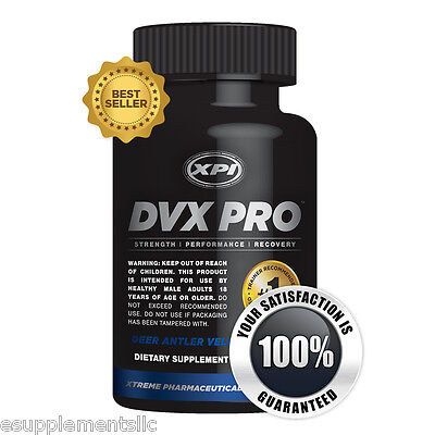 DVX Pro [30 Caps] - Enhance Your Muscles - Improve Strength and Muscular Build ()