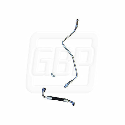 84 85 Gn Grand National Prebent Gas Feed Line Frame To Fuel Rail   2 Pc Oe Style