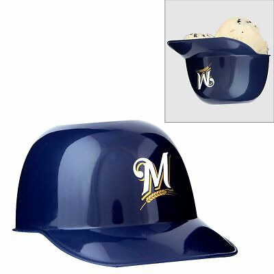 Milwaukee Brewers Mini Helmet (MLB Milwaukee Brewers Mini Batting Helmet Ice Cream Snack Bowls Single )