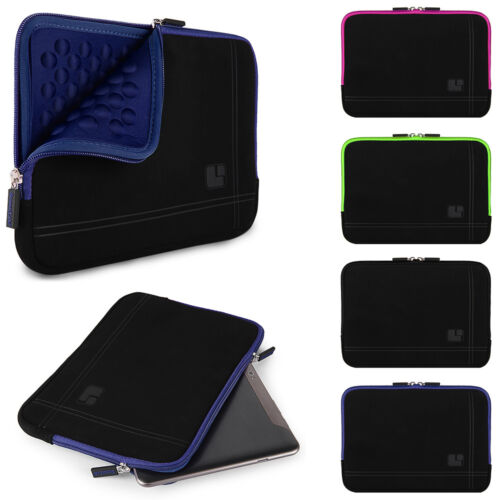 SumacLife Shock Proof Tablet Microsuede Sleeve Pouch Case Ba