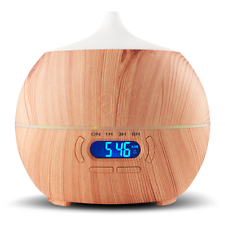 LED Bluetooth Diffuser for Essential Oils Set for Aromatherapy Mist Ultrasonic