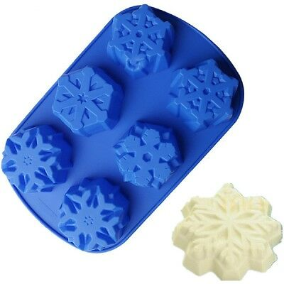 High Quality Frozen 6 Cubes Silicon Cake Mould, Cake Decoration,for Parties. (Frozen Decorations For Parties)