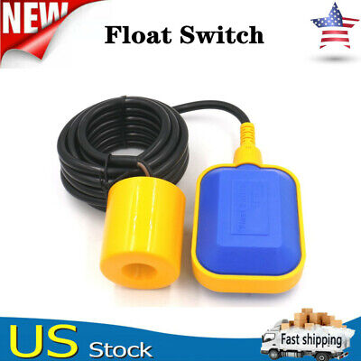 Float Switch For Water Tank Sump Pump Automatical Controller Pump W6.5ft Cable