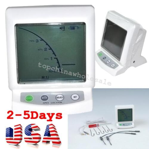 USA Fast LCD Dental Apex Locator Root Canal Finder Endodontic Measure Machine CE