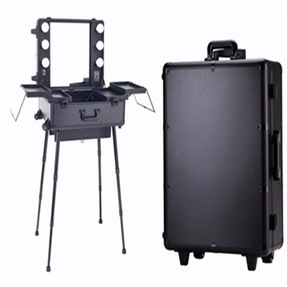 Perfect Christmas Gift Portable Makeup And Hair Station With Dimmer Lights