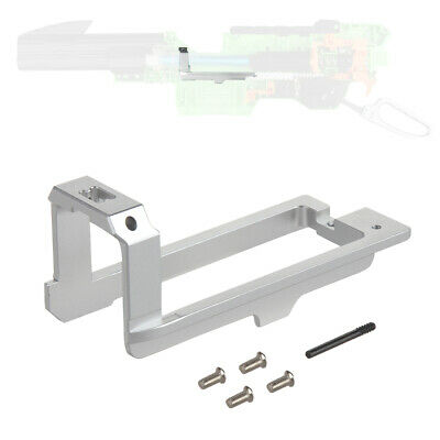 Worker Mod Sled Solid Final Stage Metal Silver for Nerf Zombie Strike Slingfire