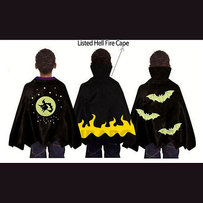 Spooky Halloween Stuff (Spooky Stuff Kids Hell Flames Demon / Witch / Vampire Halloween Costume)