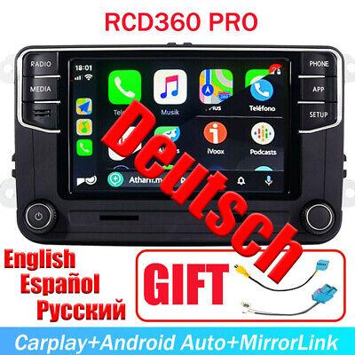 Autoradio RCD360 330 BT Carplay Android Auto USB für Golf CC Tiguan Passat Caddy