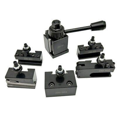 Machifit Cuneiform Kit Post Lathe Dmc 250 Gib Type Bit Holder Quick Change Tools