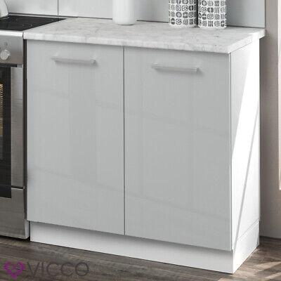 Cucina Vicco Raul Cucina componibile Blocco Cucina Cucina su Misura 240 cm Bianco