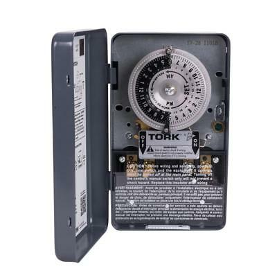 Tork 40 Amp 1-channel 24-hours Indoor Mechanical Time Switch