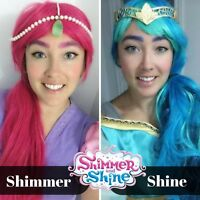 Shimmer and shine character parties