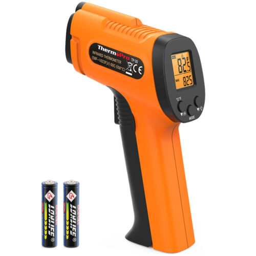ThermoPro Digital LCD Non-Contact Infrared Thermometer Laser Thermometer °F/°C