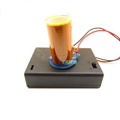 Dc4.5v Miniature 8050 Transistor Tesla Coil Arc Free Light-up Diy 180ma-380ma