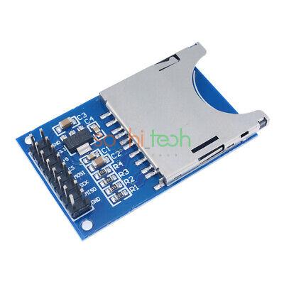 10pcs Sd Card Module Slot Socket Reader For Arduino Arm Mcu Read And Write