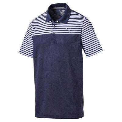Puma Golf Mens Clubhouse Polo Shirt - Peacoat