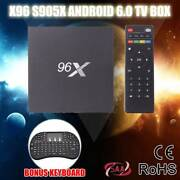X96 4K KODI  TV BOX Android 6.0 S905X Quad Core +keyboard Dandenong South Greater Dandenong Preview