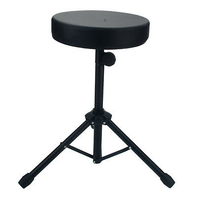New Padded Seat Stool Drumming Chair Stand Drummers Percussion