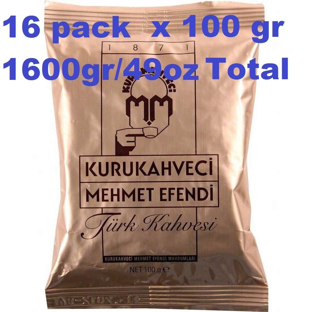 Turkish Coffee by Kurukahveci Mehmet Efendi Best Roasted Ground Coffee