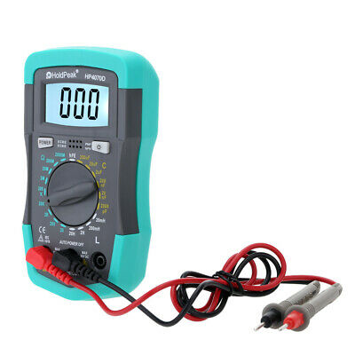 Handheld Lcd Digital Multimeter Resistance Capacitance Inductance Lcr Meter M2f7