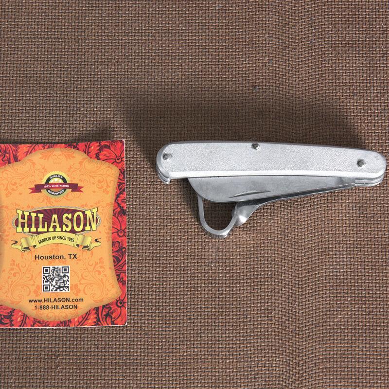C-3296 Hilason Western Horse Care Thinning Knife W/ Hoof Pick