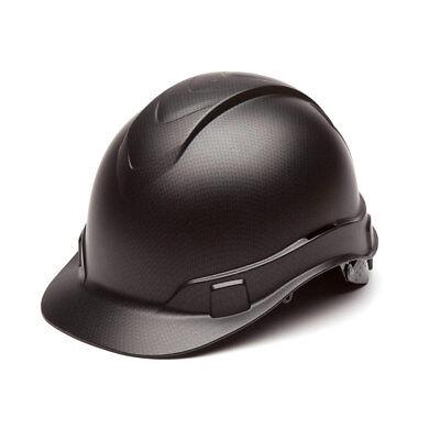 Pyramex Hp44117 Ridgeline Graphite Cap Style Black Hard Hat W4 Pt Ratchet Susp