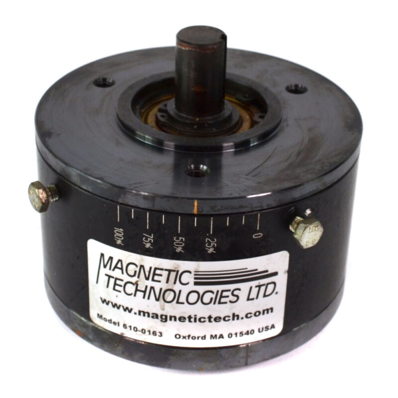 Magnetic Technologies 610-0163 Magnetic Permanent Hysteresis Clutch Brake