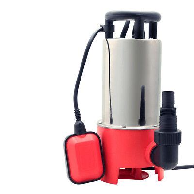 Grafner Schmutzwasserpumpe 1100 Watt 20.000L/H Schmutzwassertauchpumpe Pumpe