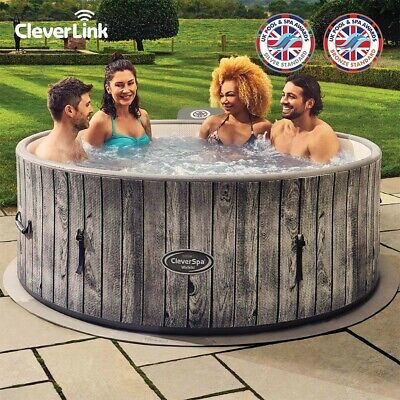 CLEVERSPA® BLACK LABEL WAIKIKI 7 PERSON HOT TUB WITH CLEVERLINK® Brand New