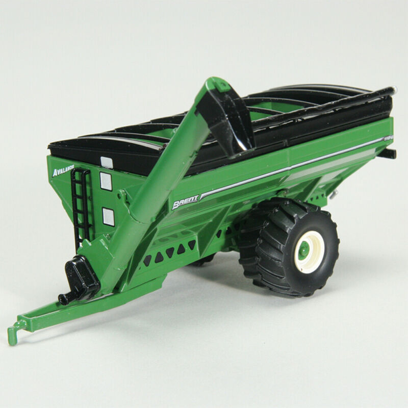 Brent Toy 1/64 Scale Green Grain Cart with Flotation Tires Part # UBC 007