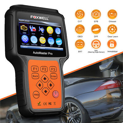 ALL SYSTEMS OBD2 DIAGNOSTIC SCANNER TPMS EPB DPF FOXWELL NT644