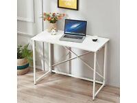 100cm Foldable Computer Laptop Desk Office Pc Table Study Writing Workstation