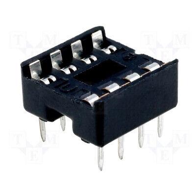 5x 8 Pin Dip - Solder Type - Ic Sockets