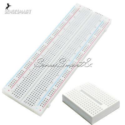 Mb-102 830 Point Pcb Bread Board Mini Solderless Prototype Breadboard Mb102 Se