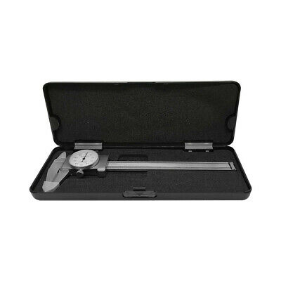 6 Dial Caliper With Carbide Tipped Jaws .001 Graduation Shockproof