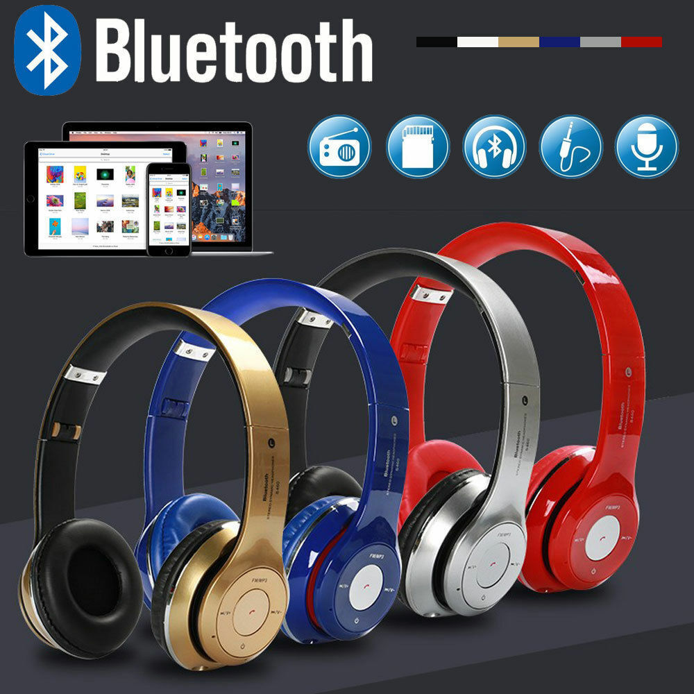 Details about Wireless Bluetooth Kids Over-Ear Headphones Earphones for  iPad/Tablet/Phones TH