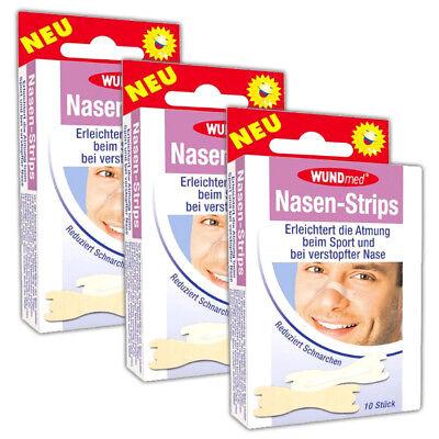 30 Stück Nasen-Strips | Sport Nasenstrips | Nasenpflaster | reduziert Schnarchen