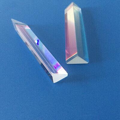 9cm Optical Glass Triangular Prism For Photography Teaching Light Spectrum