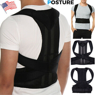 Back Brace Posture Corrector Best Fully Adjustable Lumbar Support For Back
