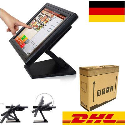 "DE 15"" LCD Touchscreen Monitore Kiosk Monitor für Kassensystem POS Kassenmonitor"