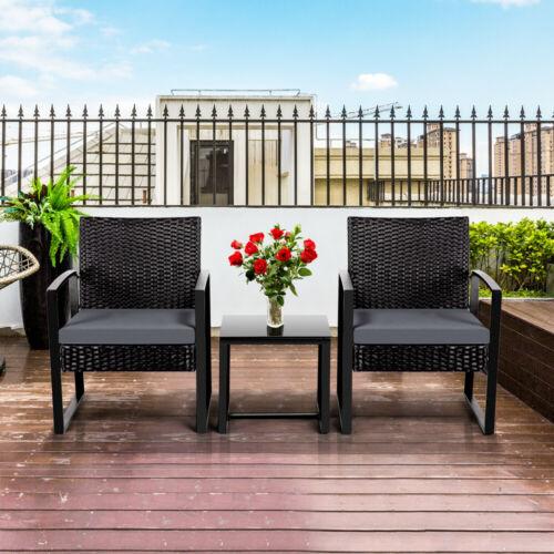 Garden Furniture - Rattan Garden Furniture Set Patio Conservatory Wicker chairs sofa Table Sets New