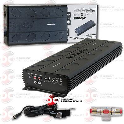 Audiopipe Apmi 2000 1 Channel Mono Block Car Audio Amp Amplifier 1944W Rms