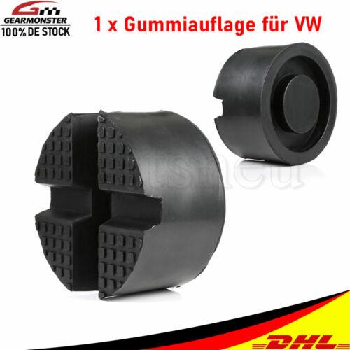Wagenheber Aufnahme Gummiklotz Hebebühne Adapter Gummi Block für VW Passat Polo