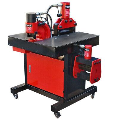 Multi-Function Hydraulic Busbar Bender Cutter Puncher Copper